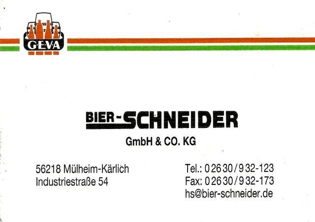 Bier Schneider